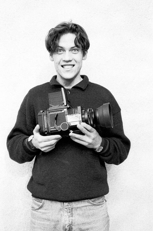 in 1993 B5 bought hi first medium format camera
