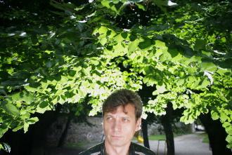 portrait of painter Igor Ribič