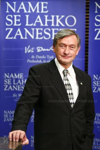 Danilo Türk, president of Slovenia