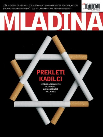 Mladina cover page