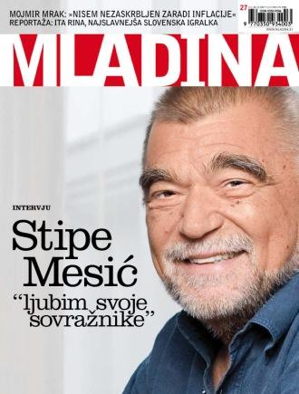 Stipe Mesić, president of Croatia