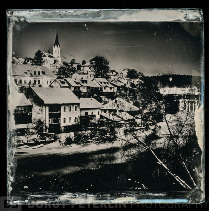 Did the wetplate ritual and here it is! From a gay landscape image into a cool wetplate in few easy steps!