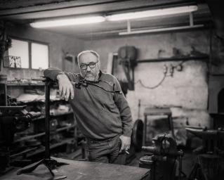 Miha Krištof, blacksmith