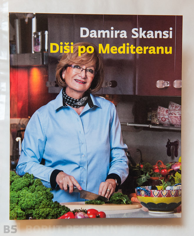 A cookbook with the author on the cover. All stacks were against me for this cover, but I've made it happy and client was ver very happy and so was I!