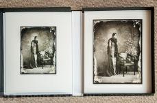 An inkjet print from a glass plate /// Inkjet print iz steklene plošče