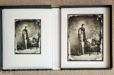 An inkjet print from a glass plate. Mat size 40x50cm. /// Inkjet print iz steklene plošče. Paspartu 40x50cm.