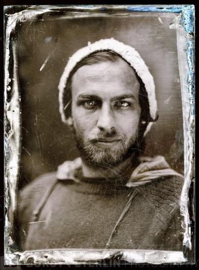 Christoph Staber, a photography student from Graz, Austria, portrayed in Studio Pelikan by Borut Peterlin. 6.4.2013, Celje, Slovenia, EU.