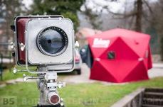 "My camera Plaubel 5x7"" with Schneider Kreuznach Tele -Xenar lens 500mm f/5.5."