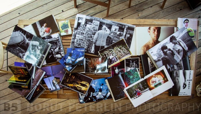 Books that I've done with my photography. These are mainly handmade books.