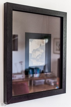 Framed ambrotype 5x7""