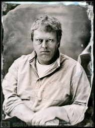 Jeroen de Wijs a collodion photographer portrayed in Studio Pelikan by Borut Peterlin
