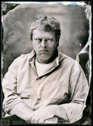 Jeroen de Wijs a collodion photographer portrayed in Studio Pelikan by Borut Peterlin