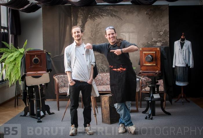 Benjamin and B5 an individual workshop at Josip Pelikan Skylight Studio