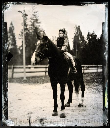 Lučka Peterlin na konju