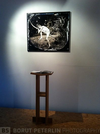 The presentation of my art zine and a single photograph at Gallery Simulaker, Novo mesto, Slovenia