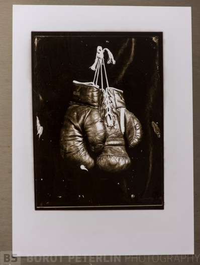 A carbon print from redeveloped wet plate negative.