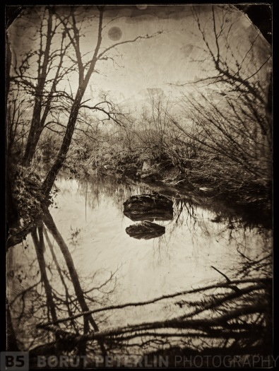 A scan of a dry collodion negative. Exposure 25 minutes at f/5.6.  (I could make it faster by 1.5 f stop)