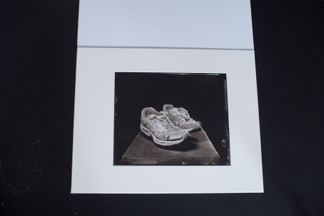 Carbon print from wet plate collodion negative with mat