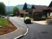 New asphalt in our street