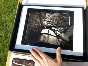Of of the carbon prints I've displayed. Courtesy of Tarmo Virves
