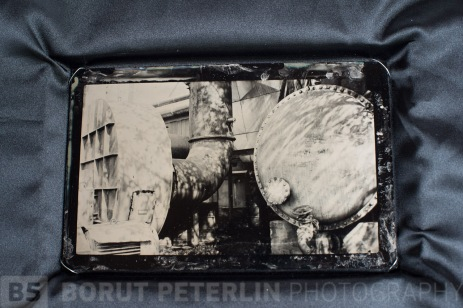 An ambrotype packed in a box for Art Photo Budapest. The plates is from my project The Great Depression. The plates will be represented by Photon Gallery. Hopefully they will be sold.