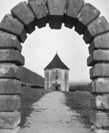 Devil's tower, Soteska, Slovenia, EU. Photographed by Adrijan Pregelj with Mamiya RB67