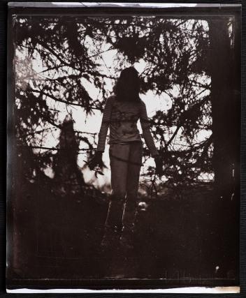 unretouched wet plate collodion negative.