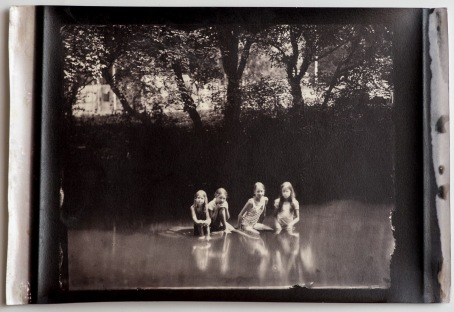 I've probably showed this image before, but this is new print. Albumen print.