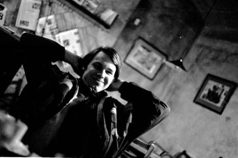 Jure at Veleryba in Prague, 1994.