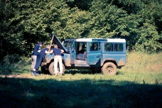 Treasure hunt, Land Rover style!