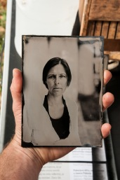 Portraits that I've done that day. Wet plate collodion process.