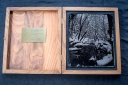 wooden box forambrotype