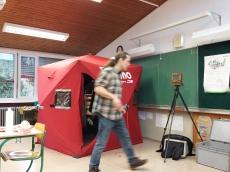 my mobile darkroom Eskimo QuickFish 3 tent